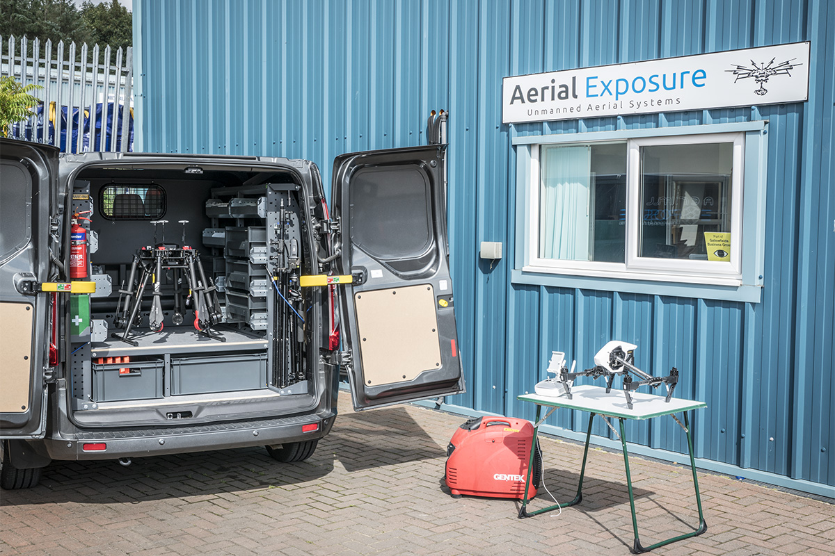 Aerial Exposure Van